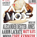 A LA MODE x LOVE x THURSDAY x APRIL 22