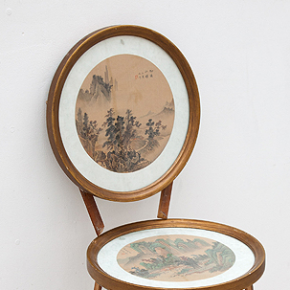 Daily Inspiration: Artist x Matt Golden x Antique Picture Frame Chairs