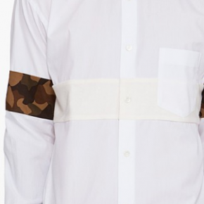 I WANT THAT: COMME DES GARÇONS SHIRT x Camo Print Button Down