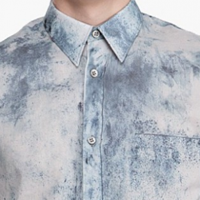 I WANT THAT: ALEXANDER MCQUEEN x DUST PRINT BUTTON DOWN
