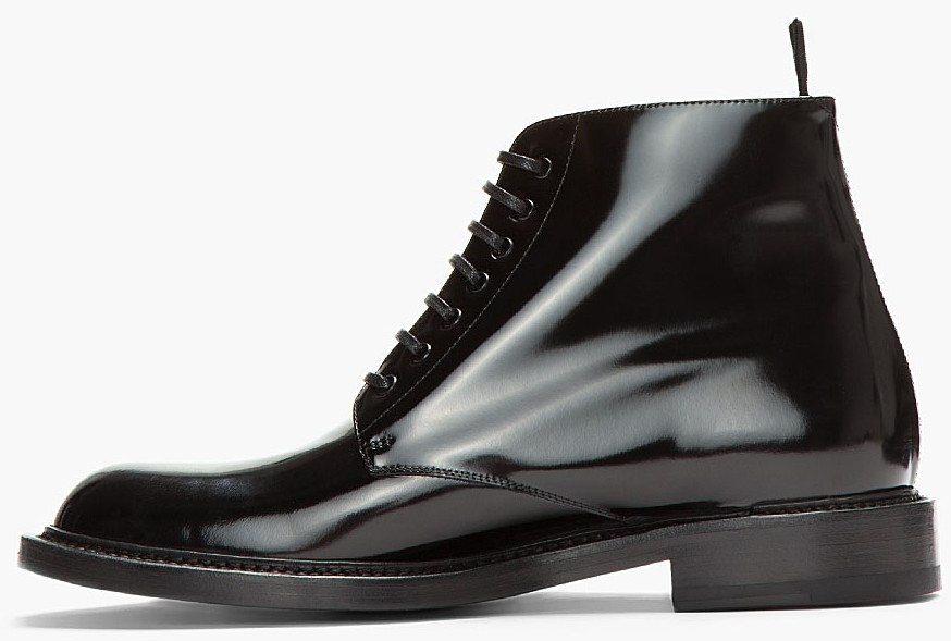 Black-patent-leather-combat-boots